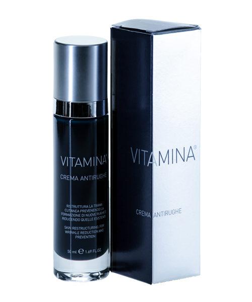 Vitamina crema antirughe