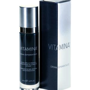 Vitamina crema depigmentante